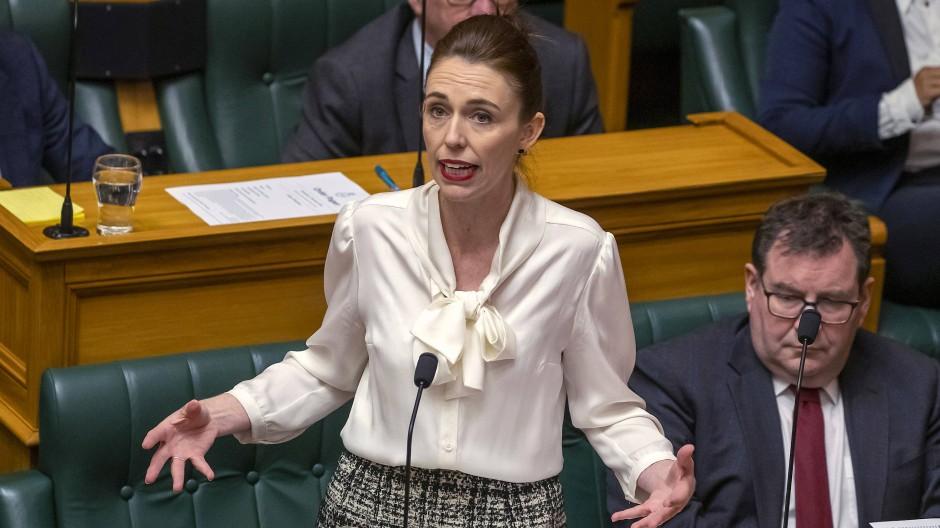 Hat es mit einem neuen Corona-Fall in ihrem Land zu tun: Jacinda Ardern, Premierministerin von Neuseeland