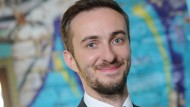 Hat wieder gut lachen: ZDF-Moderator Jan Böhmermann