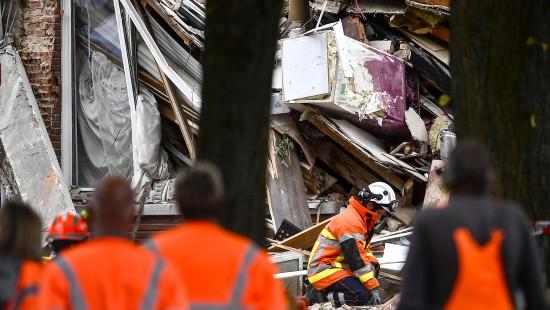 Explosion in Wohngebiet in Antwerpen
