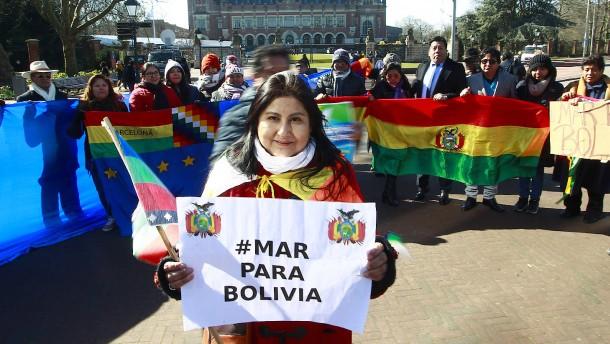 Haager Richter weisen Boliviens Anspruch auf Meerzugang zurück