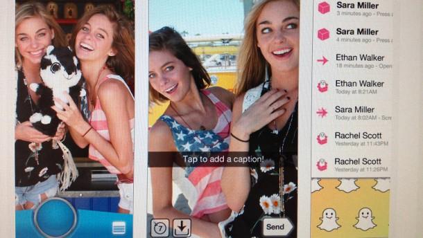 Snapchat in großer Not