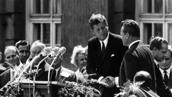 "Kennedys berühmte Worte: ""Ich bin ein Berliner"""