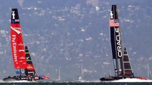 Neuseeländer hängen Oracle ab