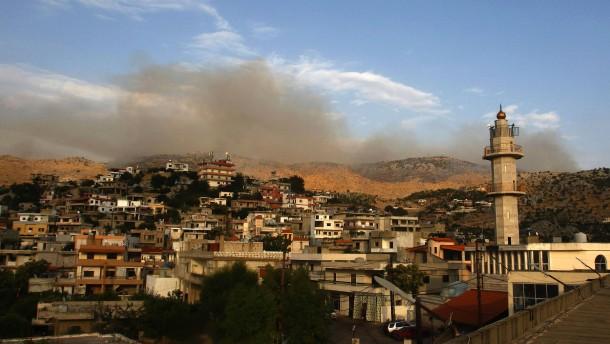 Neue Gefechte zwischen Israel und Libanon