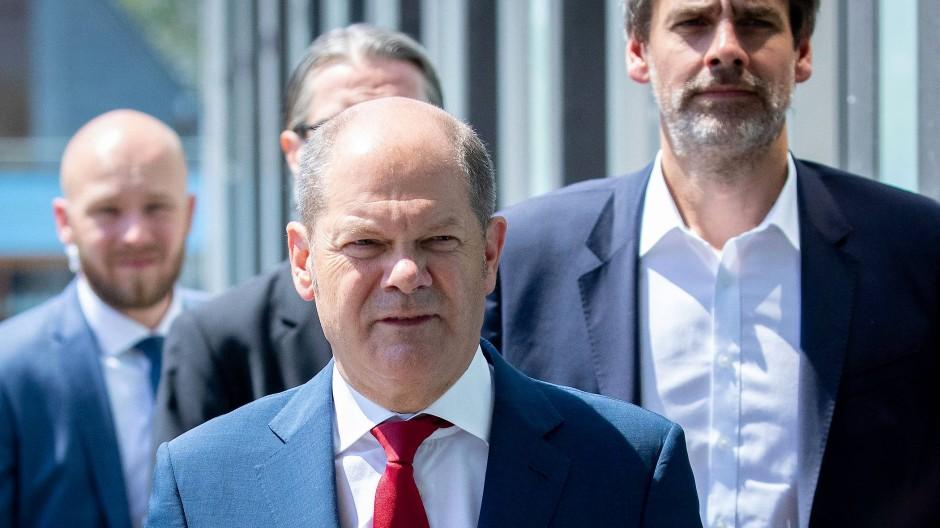 Sein Haushalt ist gemacht: Finanzminister Olaf Scholz.