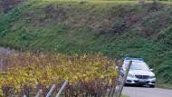 Polizeieinsatz in den Weinbergen von Endingen 2016: Dort wurde Carolin G. ermordet.