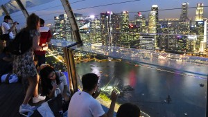 Singapur profitiert still von Hongkongs Misere