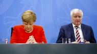 CDU-Chefin Angela Merkel und CSU-Chef Horst Seehofer