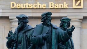 Millionärin prangert die Deutsche Bank an