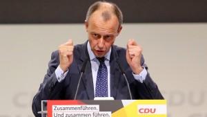 """Merz: """"Ohne klare Position bekommen wir keine besseren Wahlergebnisse!"""""""