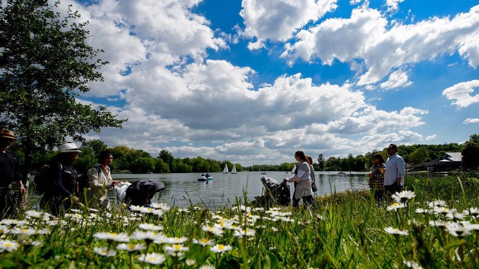 Der Kiessee: Göttingen ist laut der EU-Umweltagentur EEA die deutsche Stadt mit der besten Luftqualität.