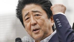 Japaner stehen hinter harter Handelspolitik gegen Südkorea