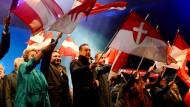 Zweikampf um die österreichische Mitte