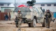 Bundeswehrsoldaten nahe Kabul beschossen