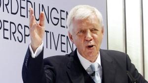 Werner Müller will RWE retten