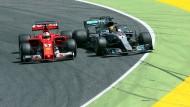 Vettel gegen Hamilton – wie ein Hahnenkampf