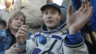 Französischer Astronaut landet auf der Erde