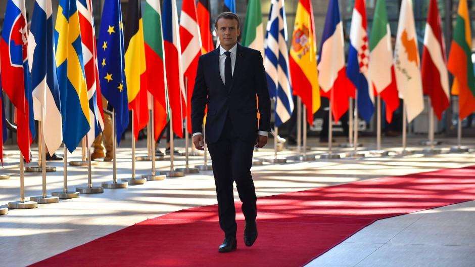 Will mehr Schulden zulassen: Frankreichs Präsident Emmanuel Macron