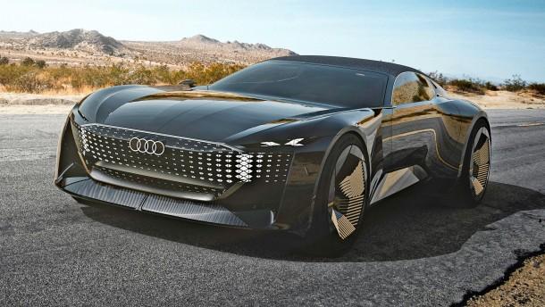 Audi schwebt in Sphären