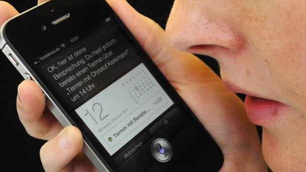 Siri hilft gegen den iPhone-Bug