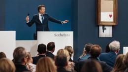 Banksy-Werk für 16 Mio Pfund versteigert