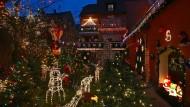 Das vielleicht weihnachtlichste Haus Deutschlands