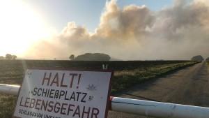 Moorbrand: Katastrophenfall ausgerufen