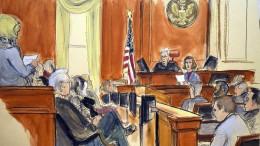 Diplomatisch brisanter Gerichtsprozess