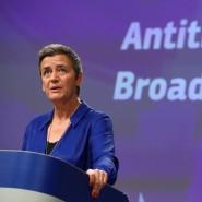 EU-Wettbewerbskommissarin Margrethe Vestager legt sich mit Broadcom an.