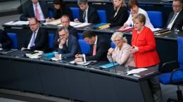 Grüne vermissen die nächste Merkel-Fragestunde im Bundestag