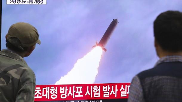 Nordkorea testet wohl erfolgreich Abschussvorrichtung