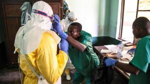 Kongo bestätigt 17 Ebola-Fälle