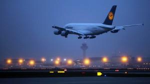 Fliegen ab Frankfurt wird billiger