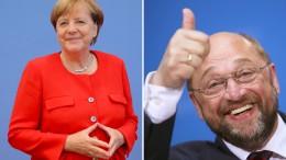 """Das Duell – Merkel gegen Schulz"""