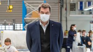 Söder erwartet Maskenpflicht