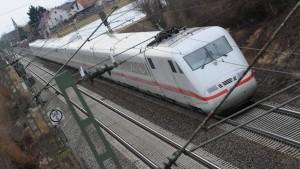 Das W-Lan im Zug ist überlastet