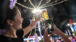 Das zünftige Bierfestival in Qingdao