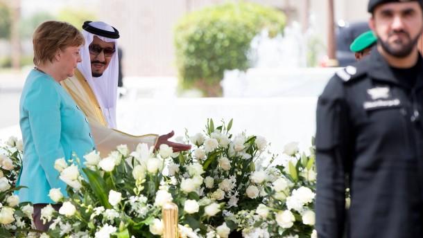 Deutschland unterstützt Saudi-Arabien im Kampf gegen IS