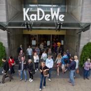Das KaDeWe wurde nach dem Überfall vorübergehend geschlossen (Archivbild)