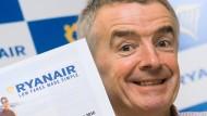 Ryanair-Chef O'Leary: Niedrige Tarife durch Lohndumping?