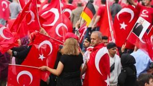 Polizei ist zufrieden mit Ablauf von Pro-Erdogan-Demo