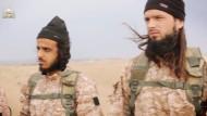"""Maxime Hauchard (r) im Propagandavideo des """"Islamischen Staates"""""""