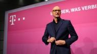 Timotheus Höttges ist Vorstandsvorsitzender der Deutschen Telekom.