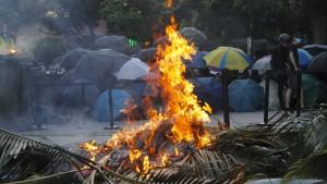 Gewalt in Hongkong eskaliert