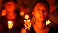 Hong Kong gedenkt des Tiananmen-Massakers