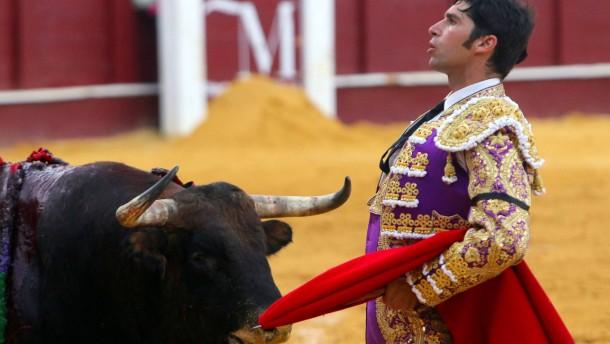 Sind Stierkämpfe schützenswertes Kulturgut?