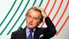 "Ferrari president Montezemolo presents a new centrist political movement named ""Towards the Third Republic"" in Rome"