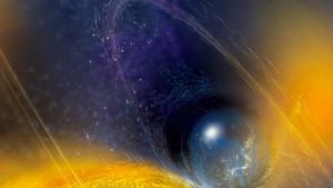 Das Ende zweier Neutronensterne