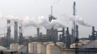 Industrieanlagen im ostchinesischen Qingdao