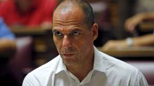 Varoufakis kritisiert Schäuble als Zuchtmeister Europas